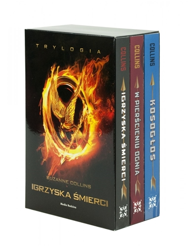 IGRZYSKA SMIERCI - TRYLOGIA <br>(The Hunger Games, Catching Fire, Mockingjay)