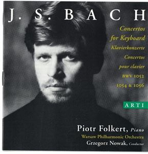 J. S. BACH Concertos for Keyboard - CD