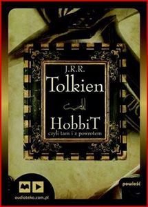 HOBBIT CZYLI TAM I Z POWROTEM (The Hobbit, or There and Back Again) <br>Audio Book CD-MP3